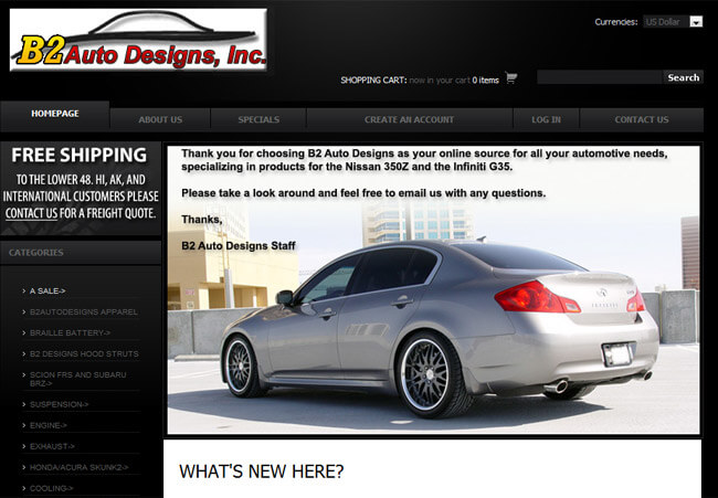 B2 Auto Design - Internet Solutions For Less